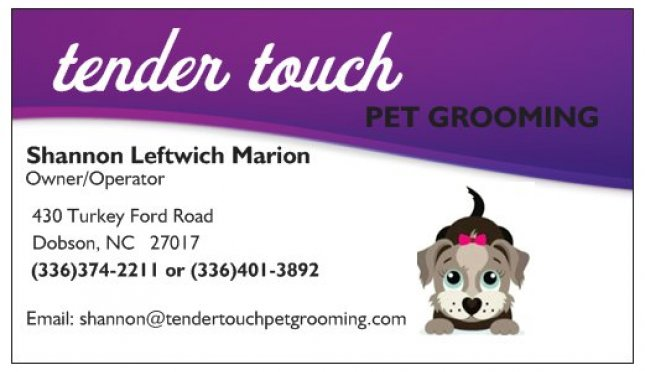 Tender Touch Pet Grooming