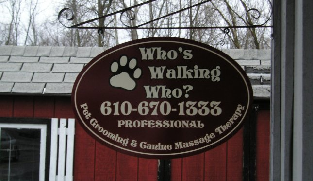 Who's Walking Who? Pet Grooming