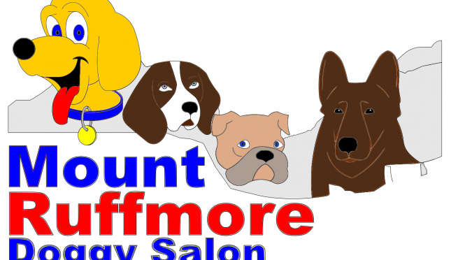 Mount Ruffmore Doggy Salon